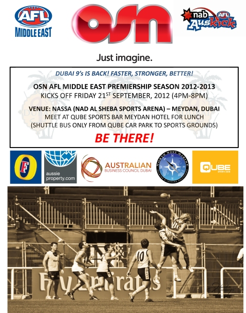 OSN premiership season is kicking off this weekend. With the return of the Dubai 9's