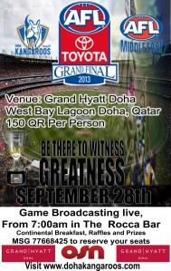 AFL 2012 Toyota Grand Final - Hawthorn v Sydney